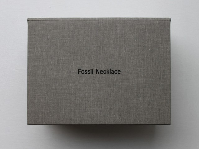 Fossil Necklace Postcard Edition