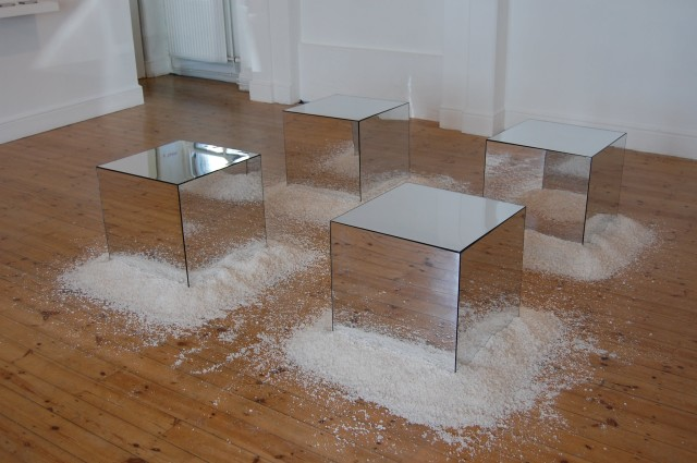 Untitled (Mirror Cubes)