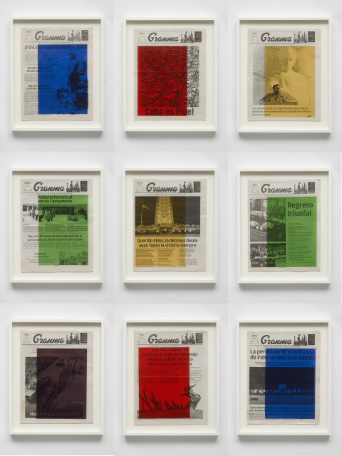 Marine Hugonnier, Art For Modern Architecture: Granma – Fidel Castro's Mourning. November 26,27,28,29,30 and December 1,2,3,4, 2016, 2018