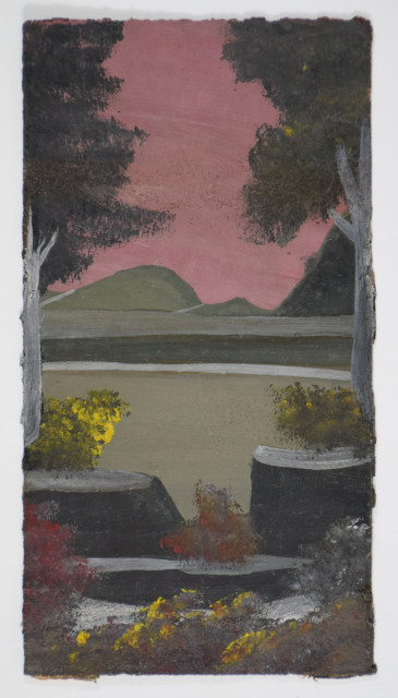 Frank Walter, Trees with Strange Rocks
