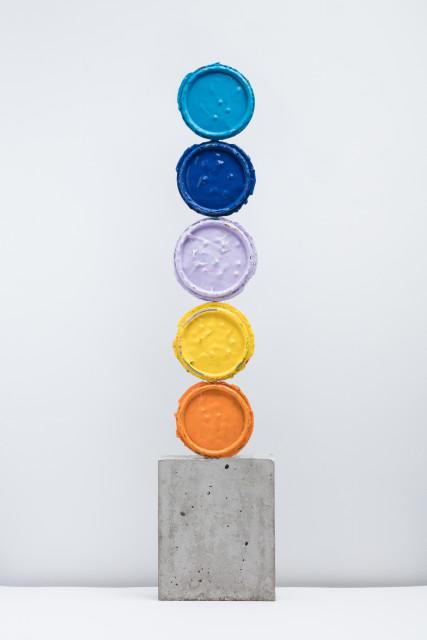 <span class=&#34;artist&#34;><strong>David Batchelor</strong></span>, <span class=&#34;title&#34;><em>Geo-Concreto 04</em>, 2018</span>