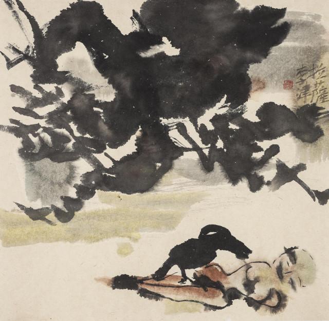 Li Jin 李津, Sky Burial 天葬, 1993