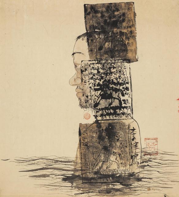 <span class=&#34;artist&#34;><strong>Li Jin &#26446;&#27941;</strong></span>, <span class=&#34;title&#34;><em>Lhasa River &#25289;&#33832;&#27827;</em>, 1993</span>