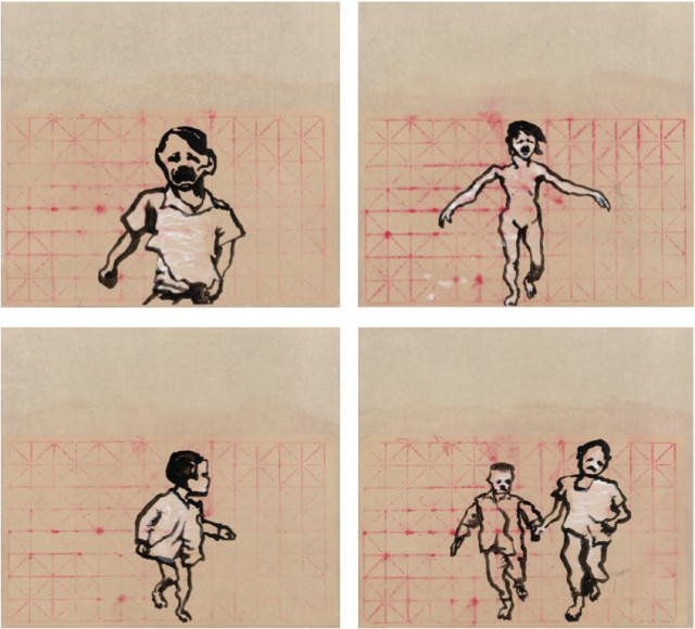 Yang Jiechang 杨诘苍, Children Running 1, 2, 3, 4 跑吧 1, 2, 3, 4, 2014