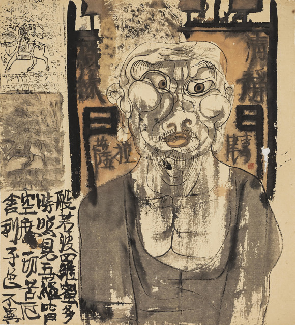 <span class=&#34;artist&#34;><strong>Li Jin &#26446;&#27941;</strong></span>, <span class=&#34;title&#34;><em>Man in Door &#38376;&#20013;&#20154; </em>, 1993</span>