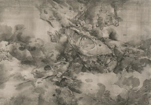 <span class=&#34;artist&#34;><strong>Tai Xiangzhou &#27888;&#31077;&#27954;</strong></span>, <span class=&#34;title&#34;><em>Rocks Expunged by Rushing Springs &#22868;&#27849;&#25225;&#30707;</em>, 2016</span>