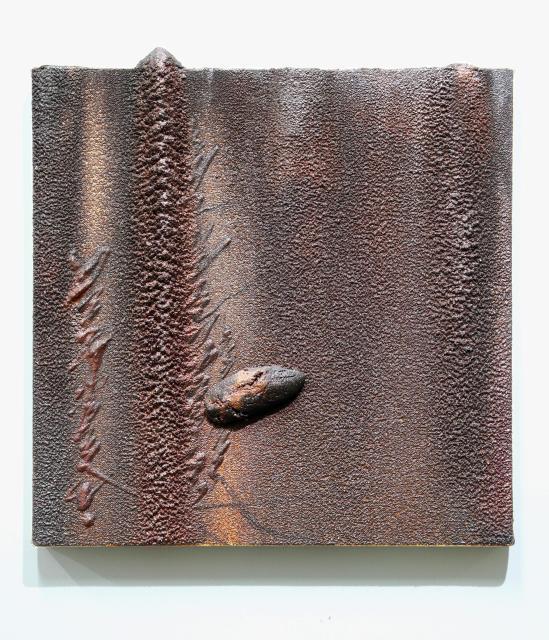 Kim Jongku 金钟九, Steel Powder Painting No. 4 铁墨画之四, 2015