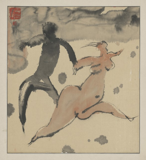 Li Jin 李津, The Tibet Series X 西藏组画之十, 1984