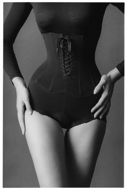 Jeanloup Sieff The corset, New York, 1962 Gelatin silver print 40 x 27 cm Estate stamp and signed by Barbara Sieff, executor of the estate, on verso
