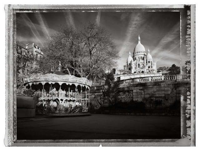 Christopher Thomas  Sacre Cœur III, 2013  Pigment print on Aquarelle Arches paper  56 x 76 cm  Edition of 25  103 x 135 cm  Edition of 7  From the series: Paris. City of Light  Signed, titled, dated and numbered in pencil with copyright credit limitation stamp and edition stamp on the verso.  Signed and numbered in pencil on the recto.