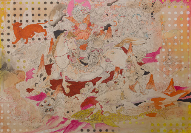 <span class=&#34;artist&#34;><strong>Baatarzorig Batjargal</strong></span>, <span class=&#34;title&#34;><em>Hero</em>, 2016</span>