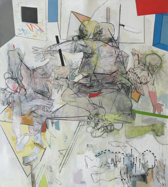 <span class=&#34;artist&#34;><strong>Thameur Mejri</strong></span>, <span class=&#34;title&#34;><em>Let me savage in</em>, 2016</span>