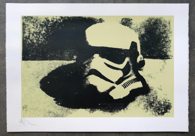 RYCA (Ryan Callanan), Helmet Study (Mono print series, each is a UNIQUE colour way), 2020