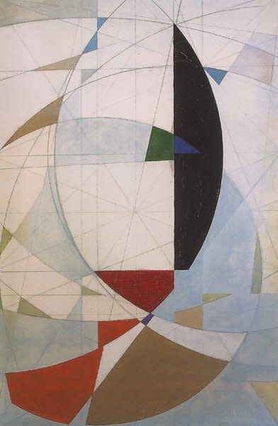 John Wells, Movement in Space, c1950