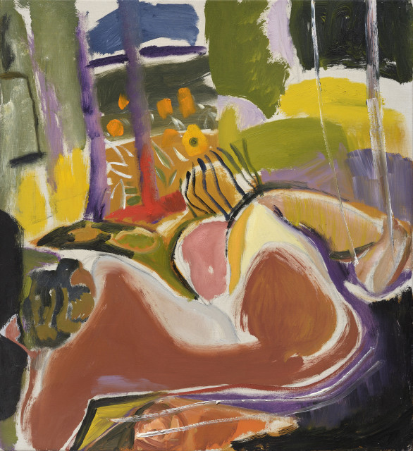 Ivon Hitchens, Nude in Summer , c1942
