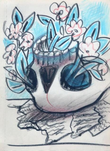 The Flowering Skull