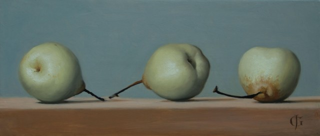 Three Chinese Pears