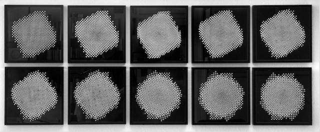 Ten pinhole structures, D 3.1-3.9, 1967 / 1994