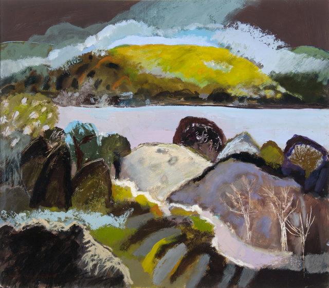 Ann Wegmuller RSW, Argyll Hill