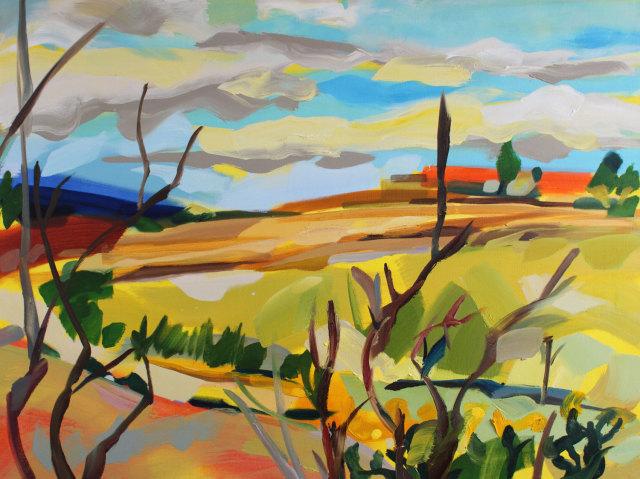 <span class=&#34;artist&#34;><strong>Shona Barr</strong></span>, <span class=&#34;title&#34;><em>Craigmaddie View</em></span>