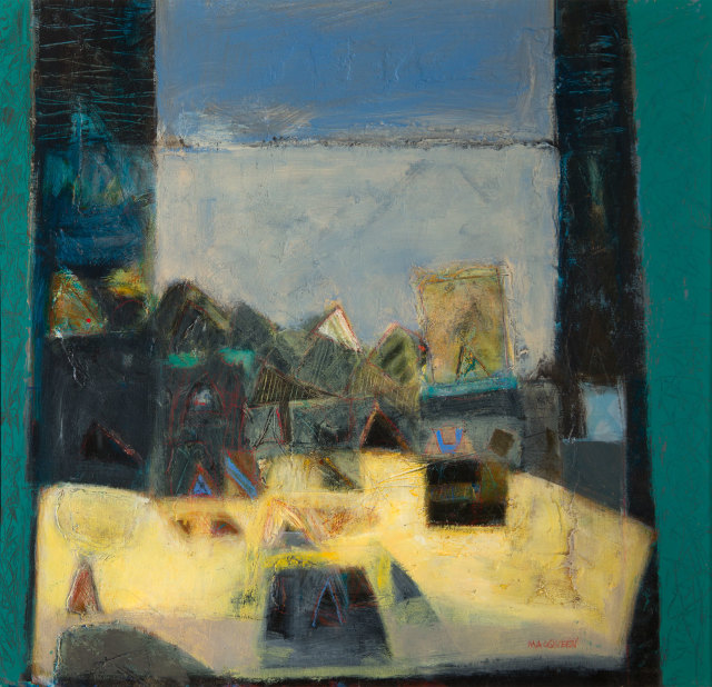 Charles MacQueen RSW RGI, Studio Window, 2016