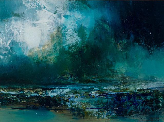 Kirstie Cohen, Seascape study
