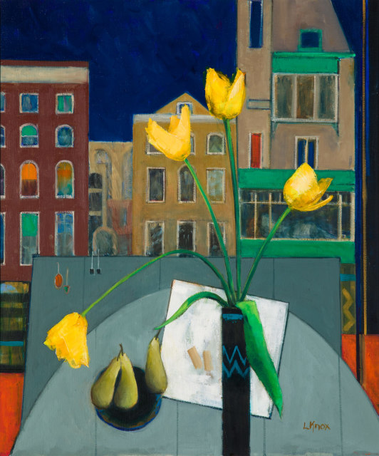 Liz Knox, Pears and Amsterdam, 2019