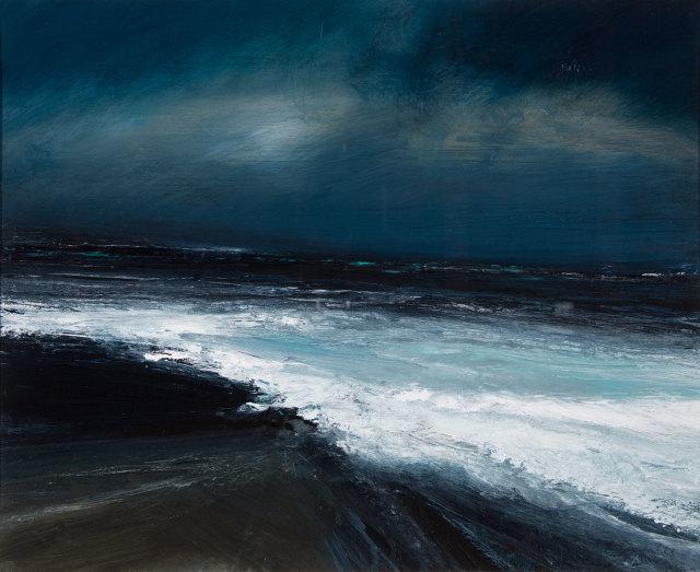 Ruth Brownlee, Sky Break/ Storm at Northmavine, 2019