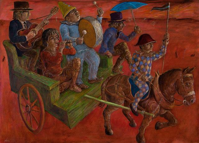 <span class=&#34;artist&#34;><strong>John Johnstone</strong></span>, <span class=&#34;title&#34;><em>The Roving Vagabonds</em></span>