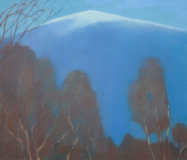 <span class=&#34;artist&#34;><strong>Jane MacNeill</strong></span>, <span class=&#34;title&#34;><em>Birches and Snow Mountain</em></span>
