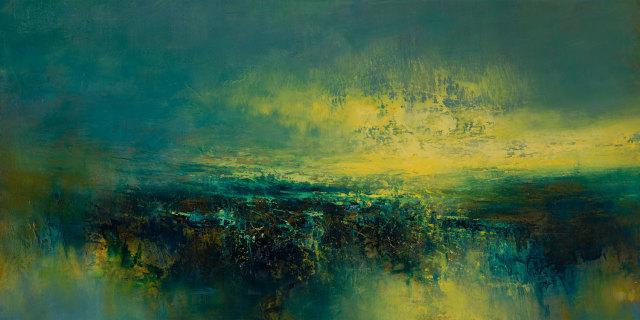 Kirstie Cohen, Yellow Cloud, 2020