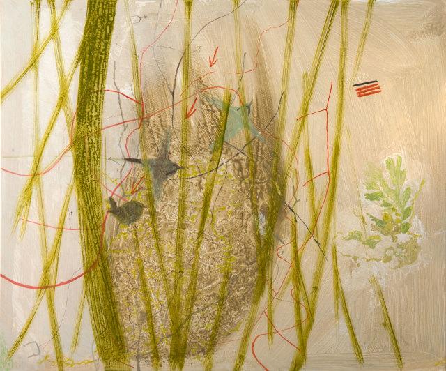 Janet Melrose RSW, Birds at Eremo
