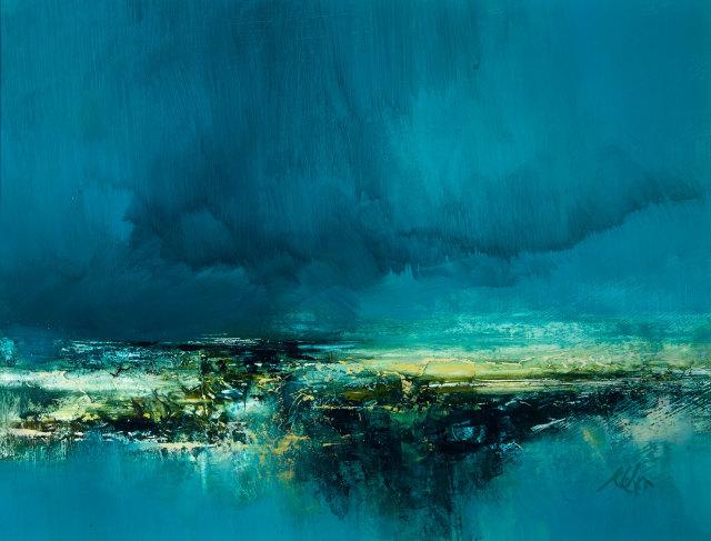 <span class=&#34;artist&#34;><strong>Kirstie Cohen</strong></span>, <span class=&#34;title&#34;><em>Cloudscape study</em></span>