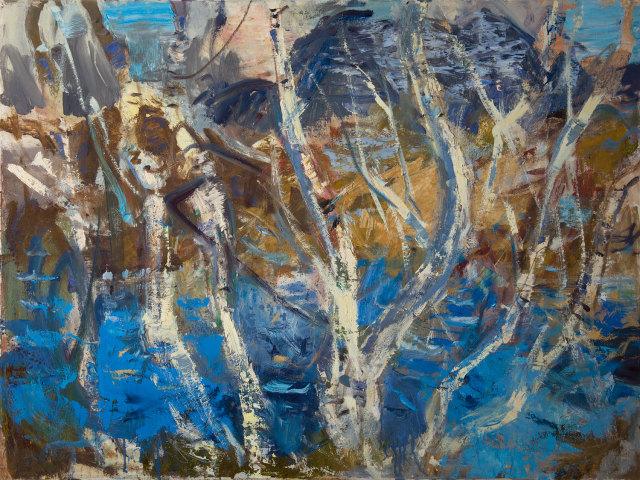 birch candelabra