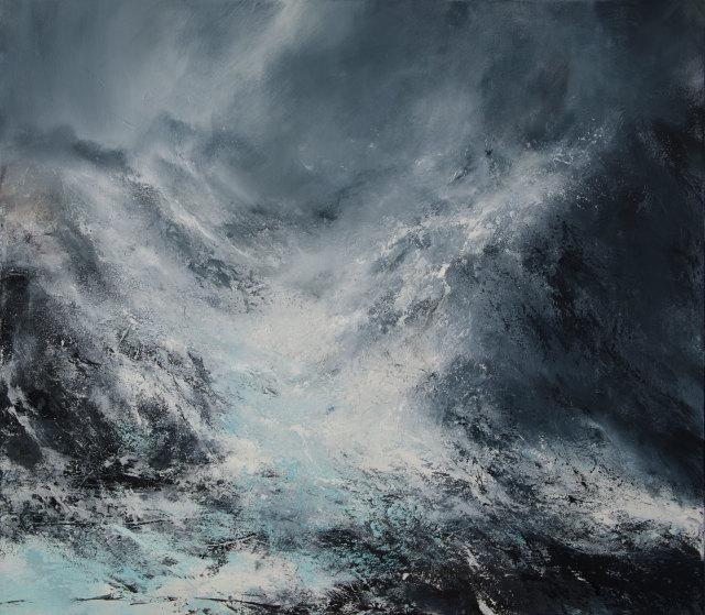 Janette Kerr, Glacial Flow, Svalbard, 2019