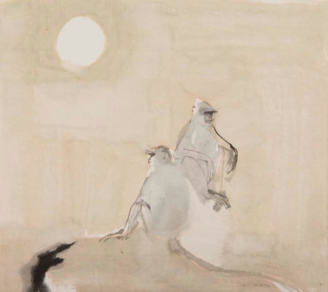 Claire Harkess, moon in the morning