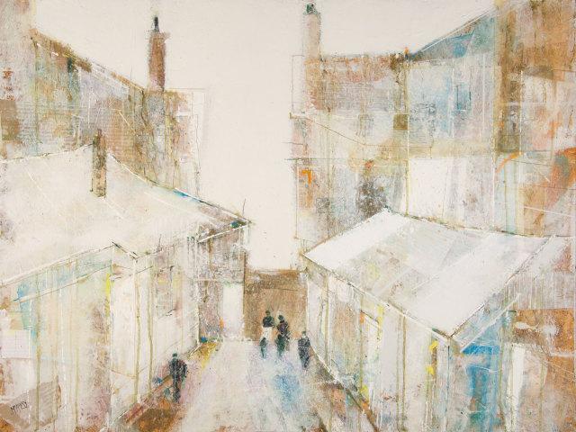Robert McAulay, White Roofs 2, 2019