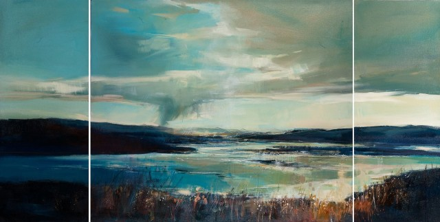 Sarah Carrington, Rain Clouds, Atlantic Drive