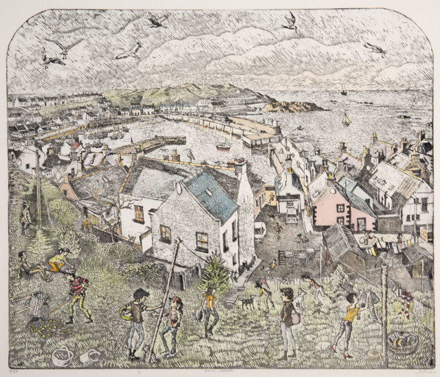 <span class=&#34;artist&#34;><strong>John Johnstone</strong></span>, <span class=&#34;title&#34;><em>Banff Harbour</em></span>