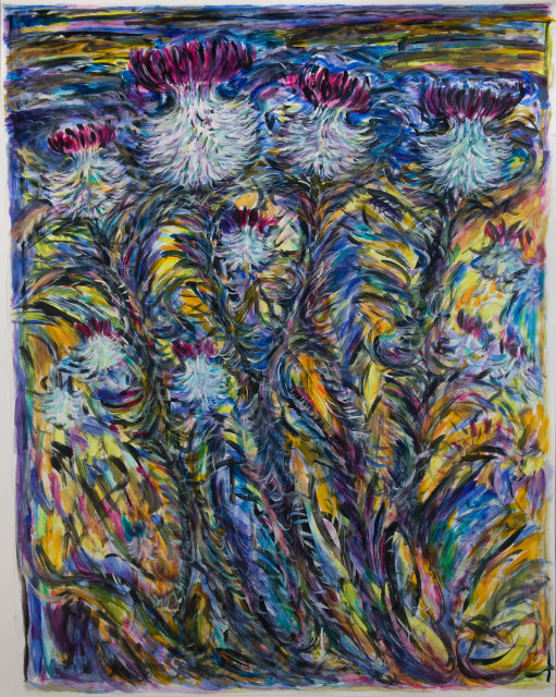 <span class=&#34;artist&#34;><strong>Fionna Carlisle</strong></span>, <span class=&#34;title&#34;><em>Caithness Thistles</em></span>