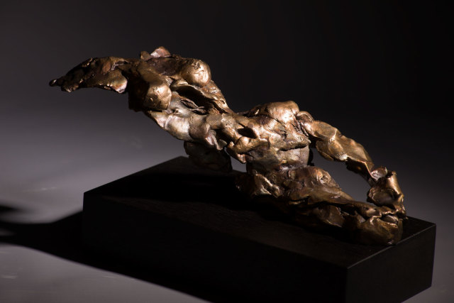 Alan McGowan, Reclining Female - Solar Ember