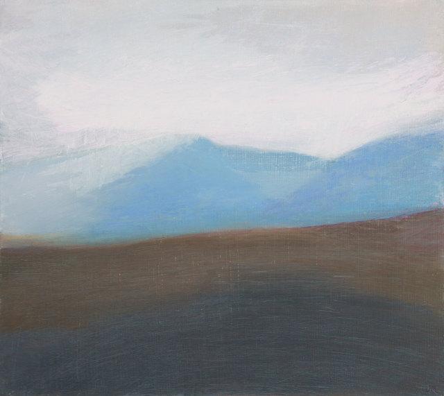 Jane MacNeill, North over Glen Tilt study, 2019