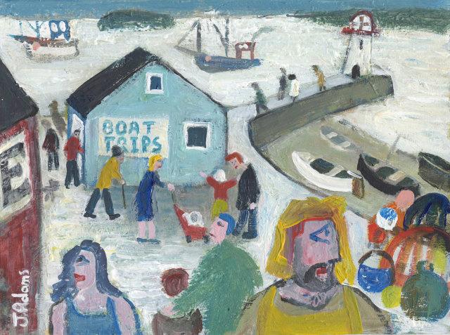 <span class=&#34;artist&#34;><strong>James Newton Adams</strong></span>, <span class=&#34;title&#34;><em>Boat Trips</em></span>