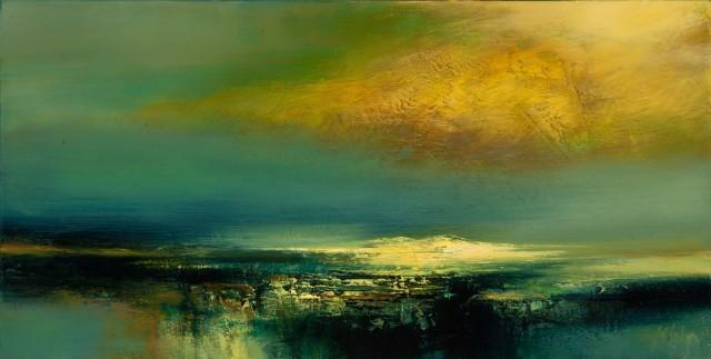 Kirstie Cohen, Yellow Cloud, 2016
