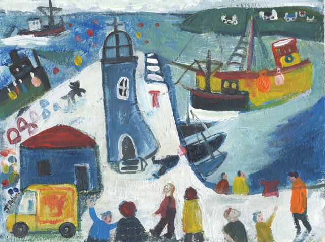 <span class=&#34;artist&#34;><strong>James Newton Adams</strong></span>, <span class=&#34;title&#34;><em>The Blue Lighthouse</em></span>