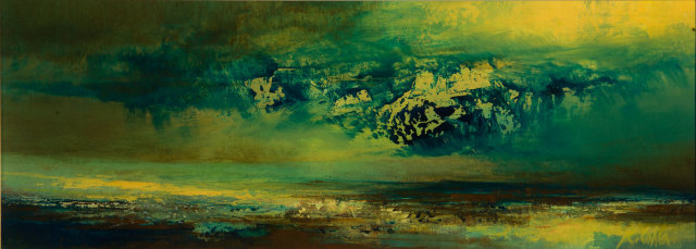 <span class=&#34;artist&#34;><strong>Kirstie Cohen</strong></span>, <span class=&#34;title&#34;><em>Green Cloud</em></span>