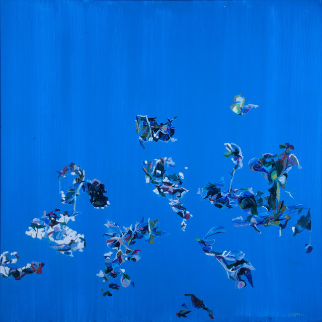<span class=&#34;artist&#34;><strong>Patricia Cain</strong></span>, <span class=&#34;title&#34;><em>'The descending blue - that blue is all in a rush</em></span>