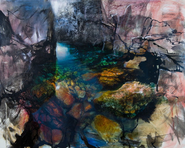 <span class=&#34;artist&#34;><strong>Beth Robertson Fiddes</strong></span>, <span class=&#34;title&#34;><em>Icelandic Pool</em></span>