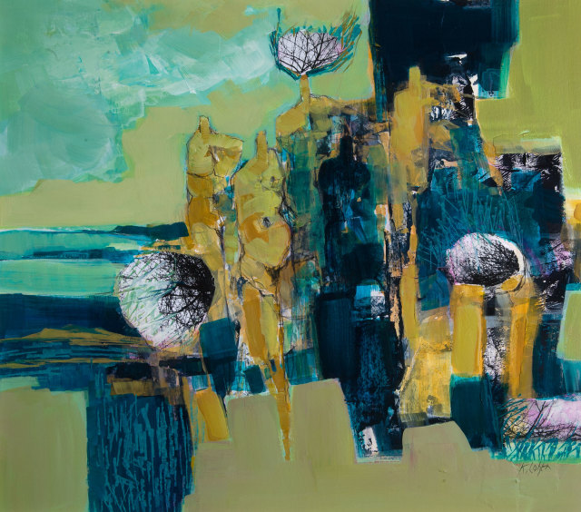 <span class=&#34;artist&#34;><strong>Kirstie Cohen</strong></span>, <span class=&#34;title&#34;><em>The Gathering I</em></span>