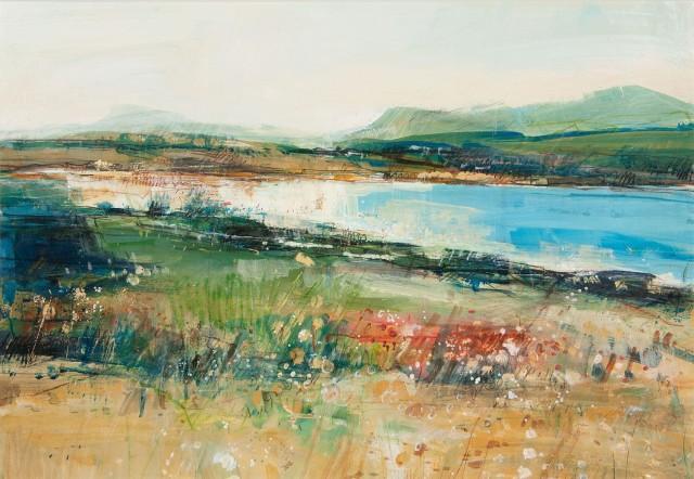 Sarah Carrington, Low Tide, Loch Spelve, Isle of Mull